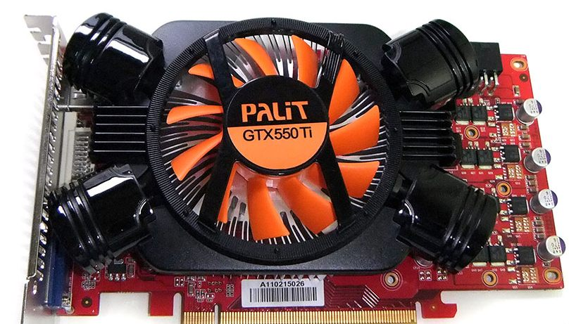 Palit GeForce GTX 550 Ti
