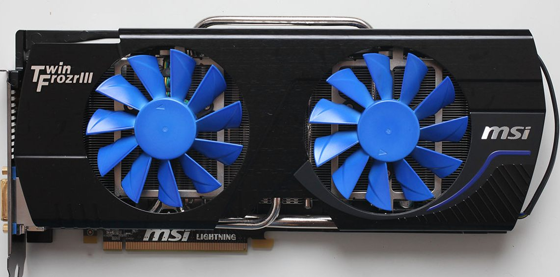 MSI GeForce GTX 580