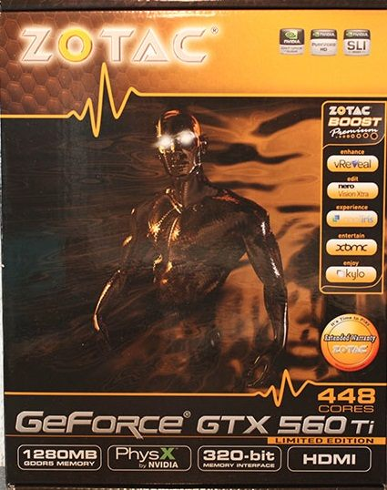 GeForce GTX 560 Ti 448 Cores