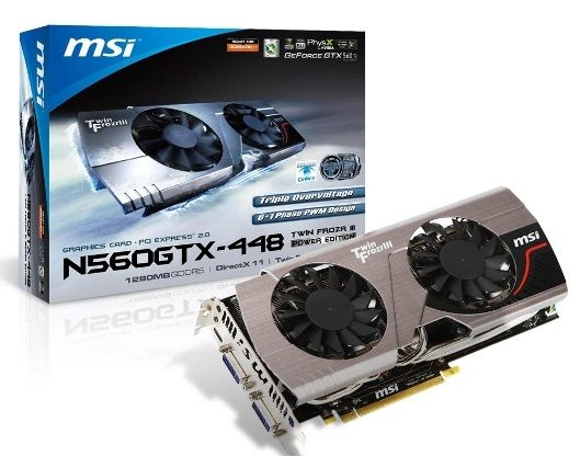MSI GeForce GTX 560 Ti 448 Cores