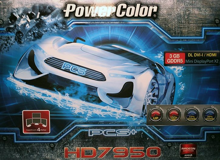 PowerColor HD 7950 PCS+
