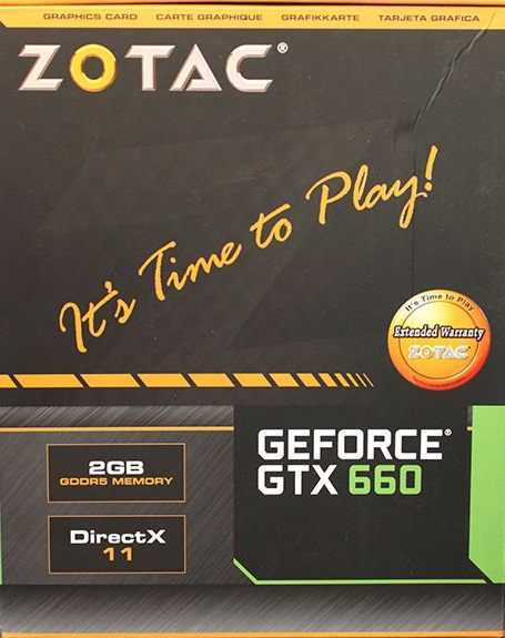 ZOTAC GeForce GTX 660