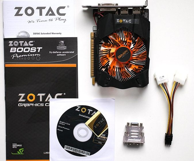 ZOTAC GeForce GTX 650 Ti AMP!