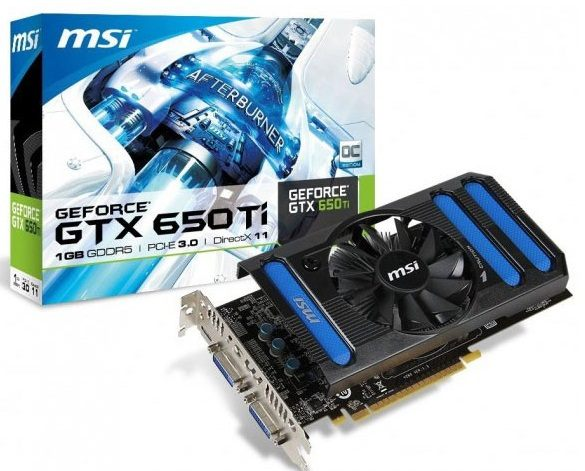 MSI GeForce GTX 650 Ti