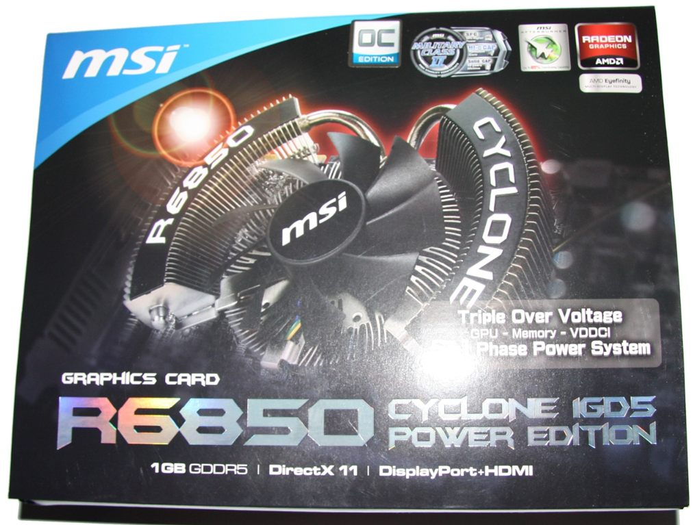 MSI Radeon HD 6850 Cyclone