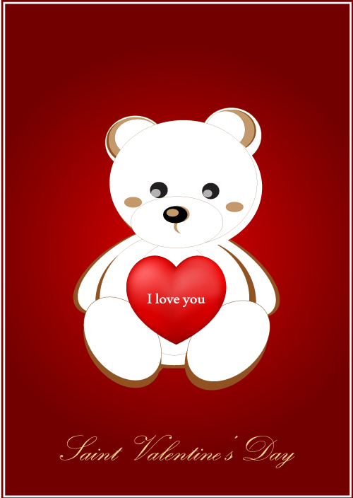Valentine Greeting Love Cards