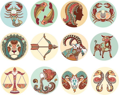 Vector Zodiac Signs