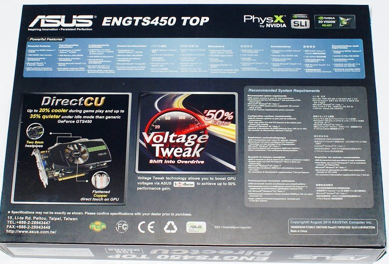 ASUS ENGTS450 TOP