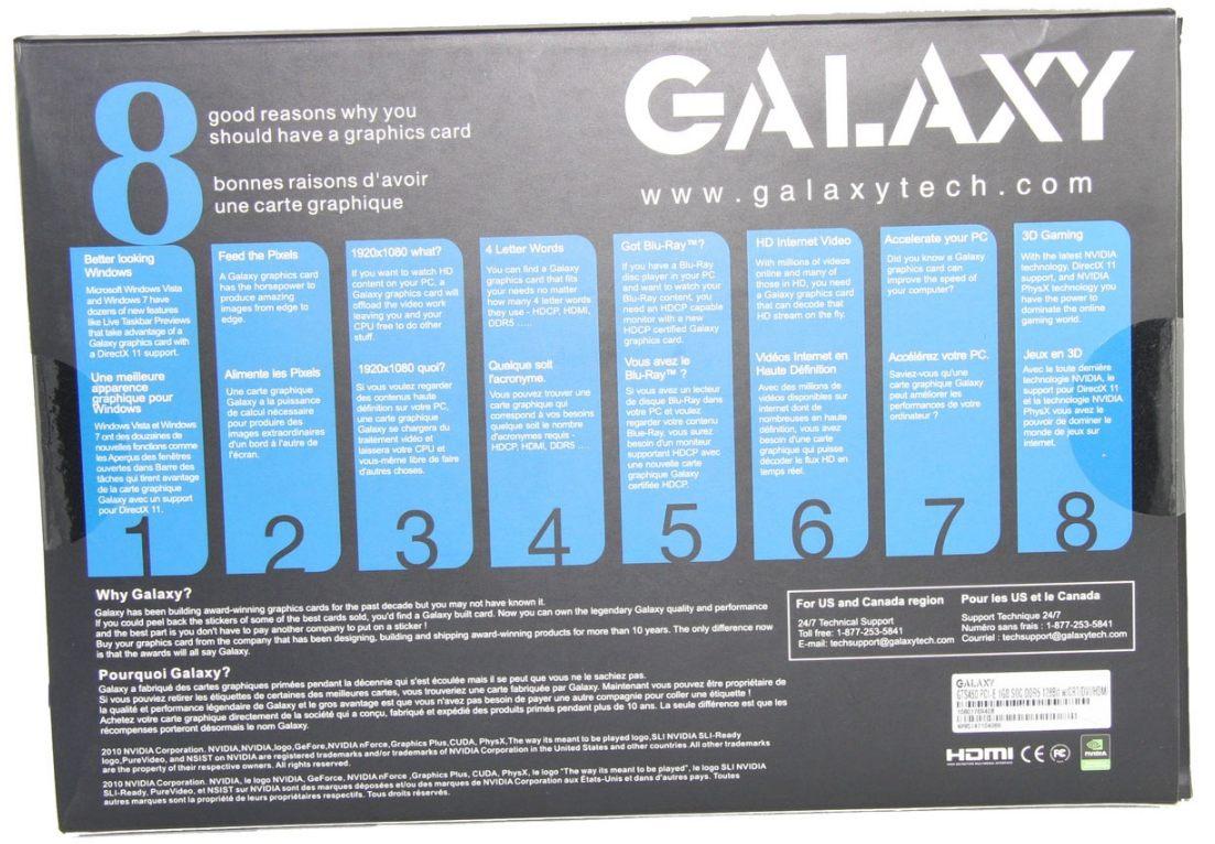 Galaxy GeForce GTS 450