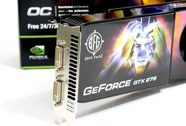 BFG GeForce GTX 275 OC Edition 896 Мб GDDR3