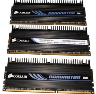 Corsair Dominator 1600MHz 6GB DDR3