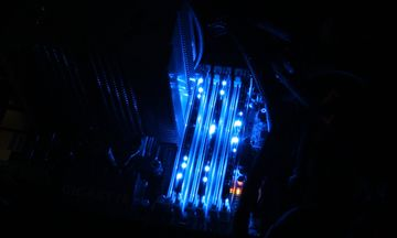 Crucial Ballistix Tracer Blue PC3-12800 6GB