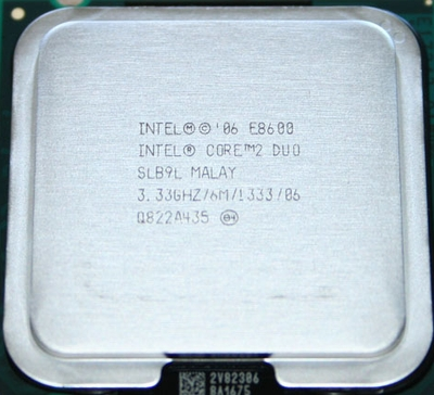 Intel Core 2 Duo E8600