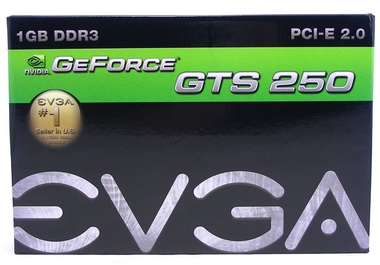 EVGA GeForce GTS 250 1 Гб GDDR3