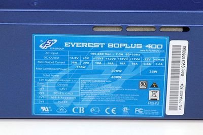 FSP Everest 80Plus