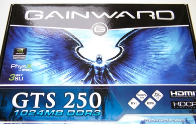 Gainward GTS 250 1 Gb GDDR3
