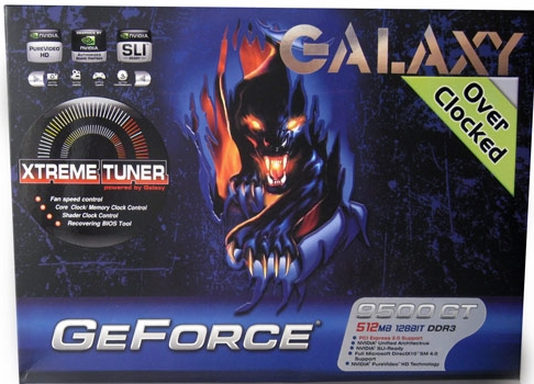 Galaxy 512Mb Geforce 9500GT