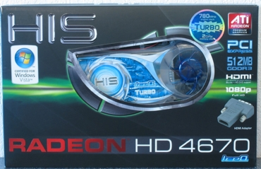 HIS HD 4670 IceQ Turbo 512 MB