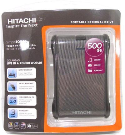 Hitachi SimpleTOUGH 500GB