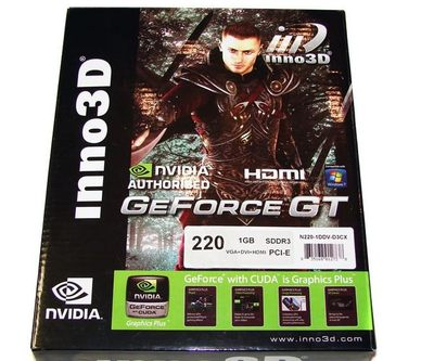 Inno3D Geforce GT 220