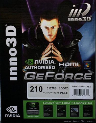 Inno3D GeForce 210