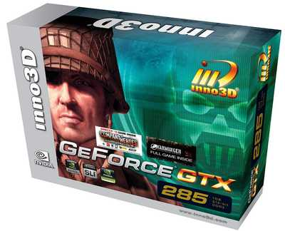 Inno3D GeForce GTX 285