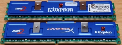 Kingston Hyper 2GB PC2-6400 CL3