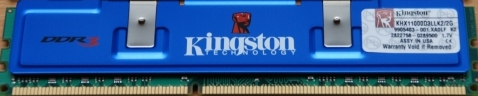 Kingston 2x1GB HyperX DDR3-1375 CL7