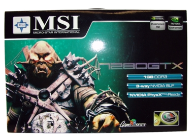 MSI GeForce GTX 280 OC 1 Gb GDDR3