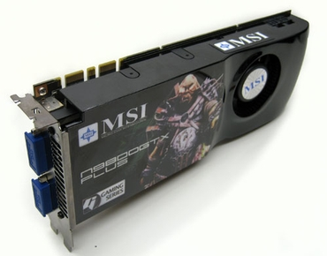 MSI 9800 GTX+ 512 Mb GDDR3 PLUS
