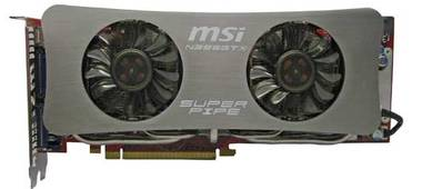 MSI NGTX285 1 Gb GDDR3 Super Pipe