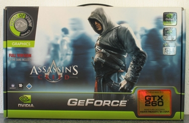 Point of View GeForce GTX 260 Assassins Creed Edition