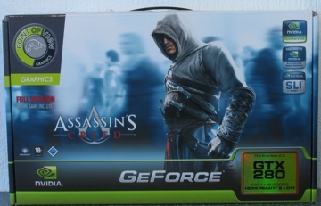 Point of View GeForce GTX 280 Assassin's Creed Edition