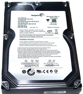 Seagate Barracuda 7200.11 1.5 Tb
