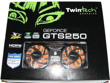 TwinTech GeForce GTS 250 XT OC 1GB