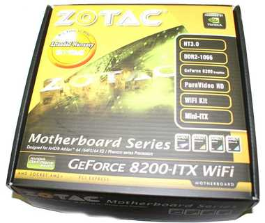 ZOTAC GeForce 8200-ITX WiFi AM2+