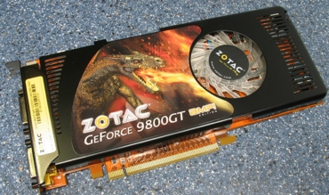 Zotac GeForce 9800 GT Amp! Edition 512 Mb GDDR3