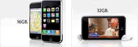 iPhone 16 GB и iPod touch 32