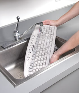 Washable Corded Keyboard