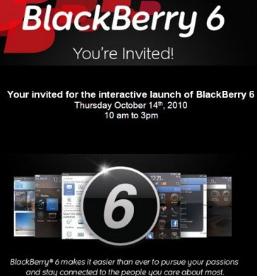BlackBerry OS 6 интерактивно