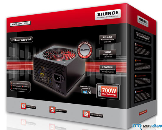 XILENCE Gaming Edition 600 W и 700 W