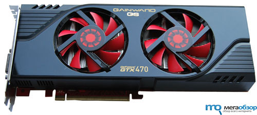 Тесты Gainward GTX 470 Golden Sample