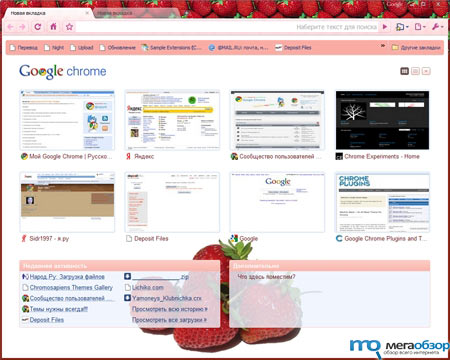 финальная версия Google Chrome 3