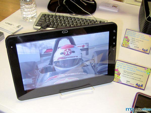 ViewSonic G Tablet планшет на базе NVIDIA Tegra 2