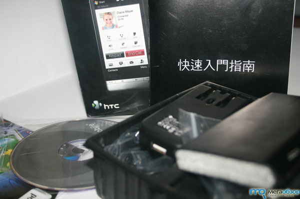 Тесты HTC Touch Diamond 2 China