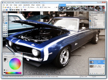 Paint.NET 3.50.3480 Alpha