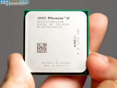 Процессор AMD Phenom II X4 980 BE с 3,7 ГГц