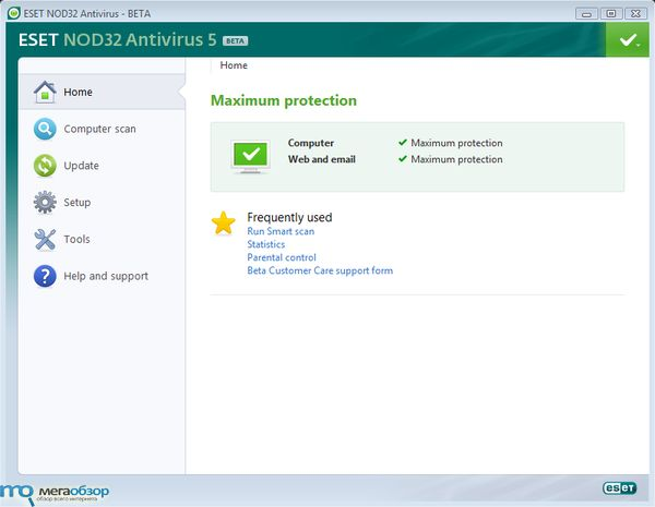 ESET Smart Security 5 и NOD32 Antivirus 5