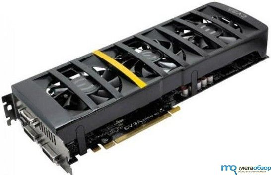 Видеокарта EVGA GeForce GTX 560 Ti 2Win с двумя GPU