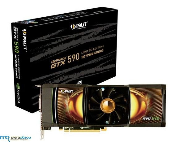 Palit GeForce GTX 590 Limited Edition предложен по цене $780